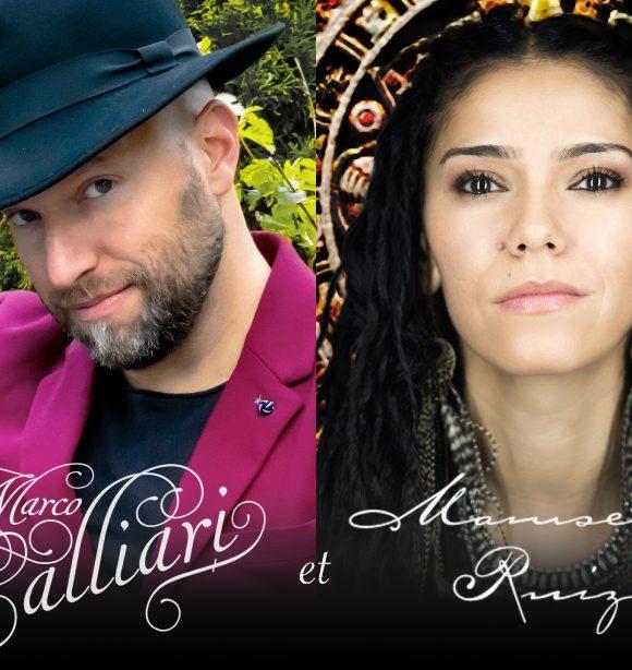 Marco Calliari et Mamselle Ruiz